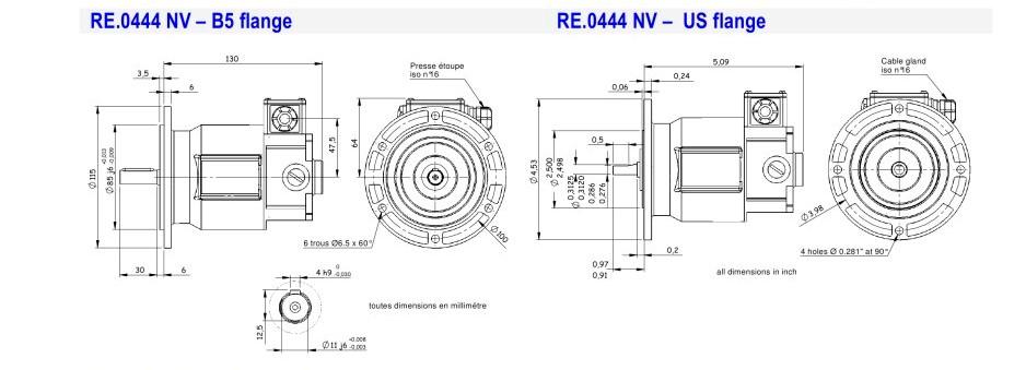 Tachometer Generator Re 0 444nv